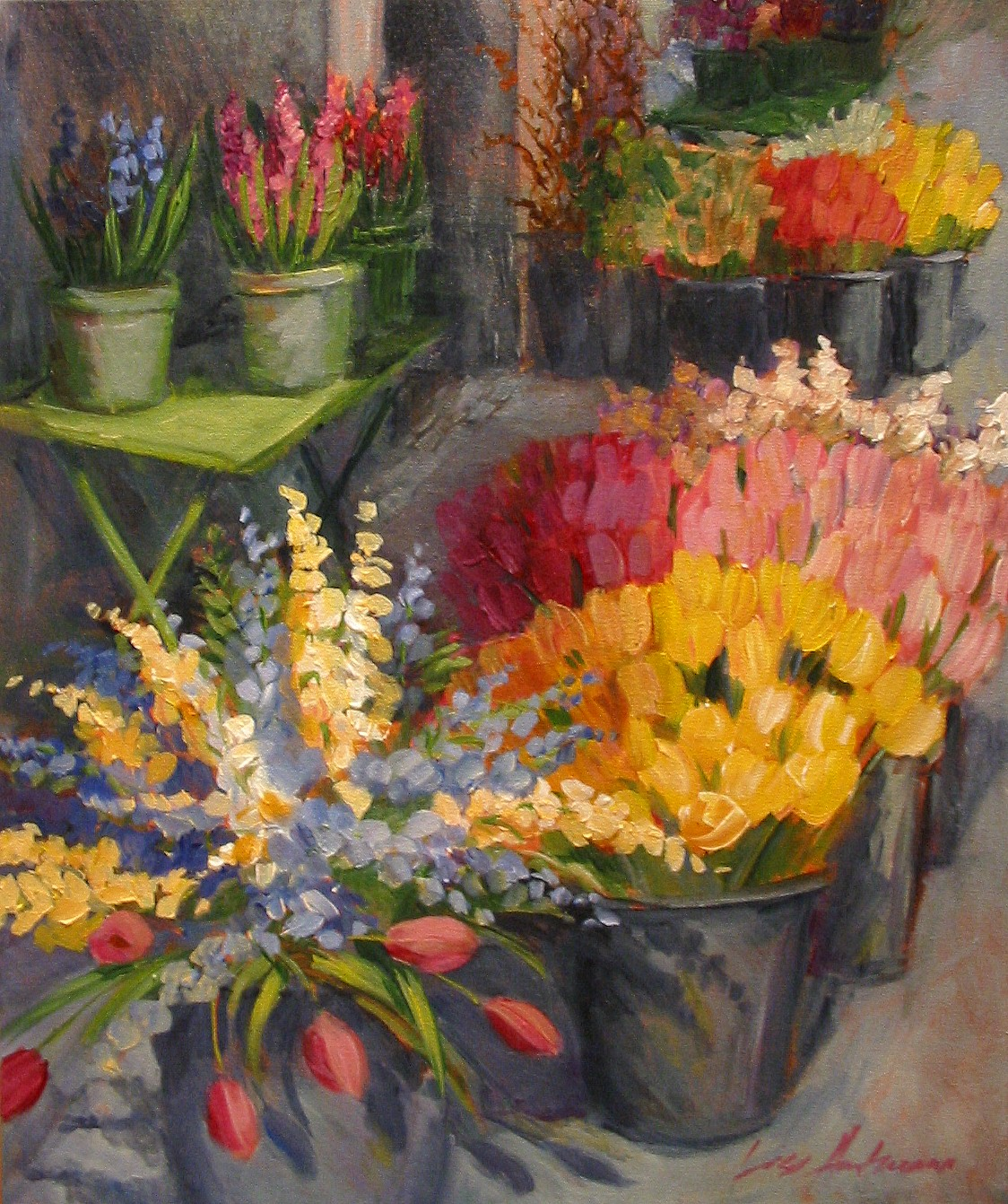 Flower And Floral Paintings